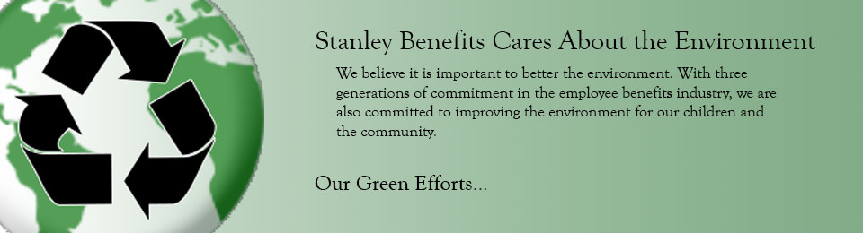 Our Green Efforts